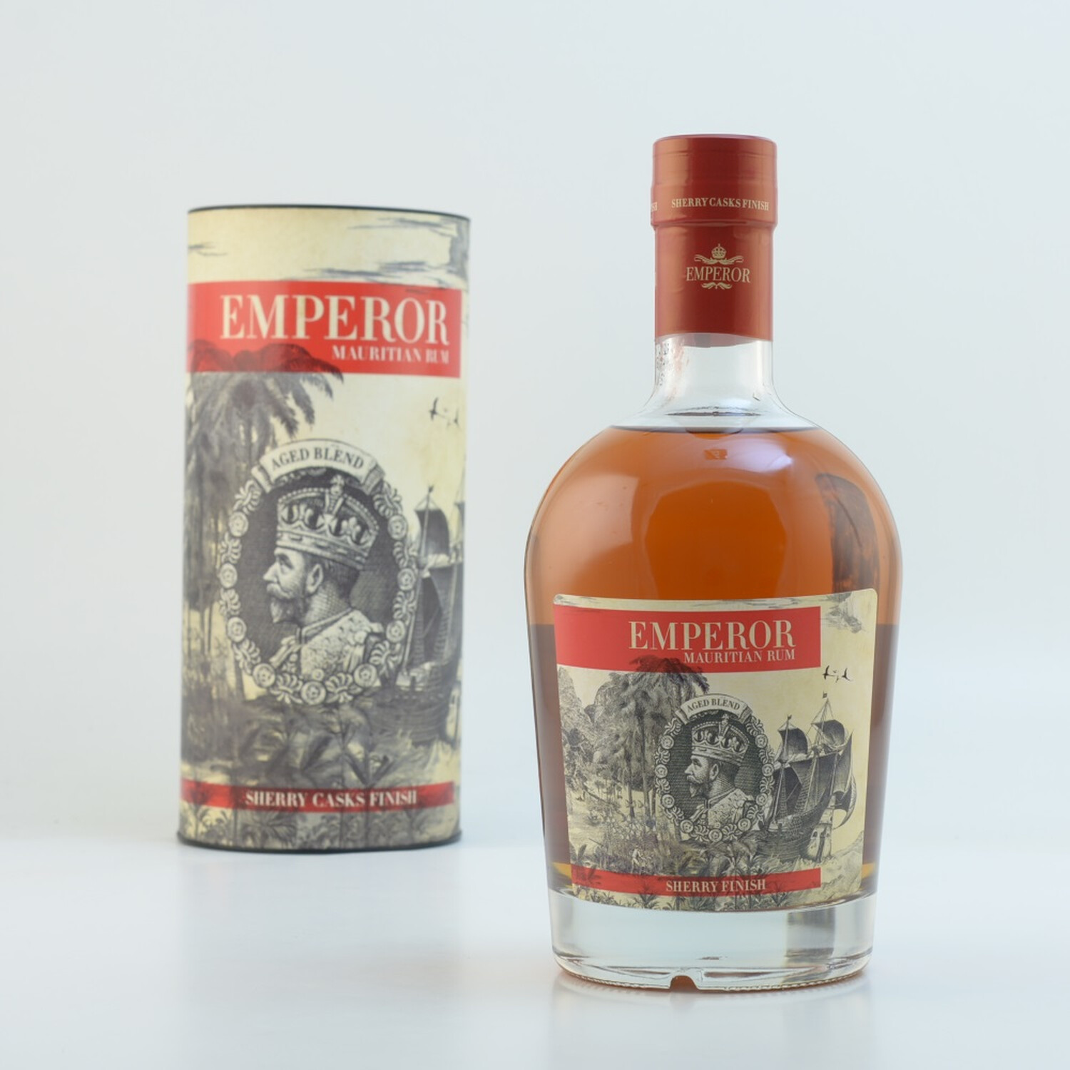 Emperor Mauritian Rum Sherry Finish 40% 0,7l (78,43 € pro 1 l)
