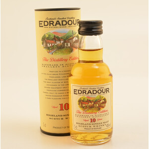 Edradour 10 Jahre Single Malt Whisky Mini 40% 0,05l