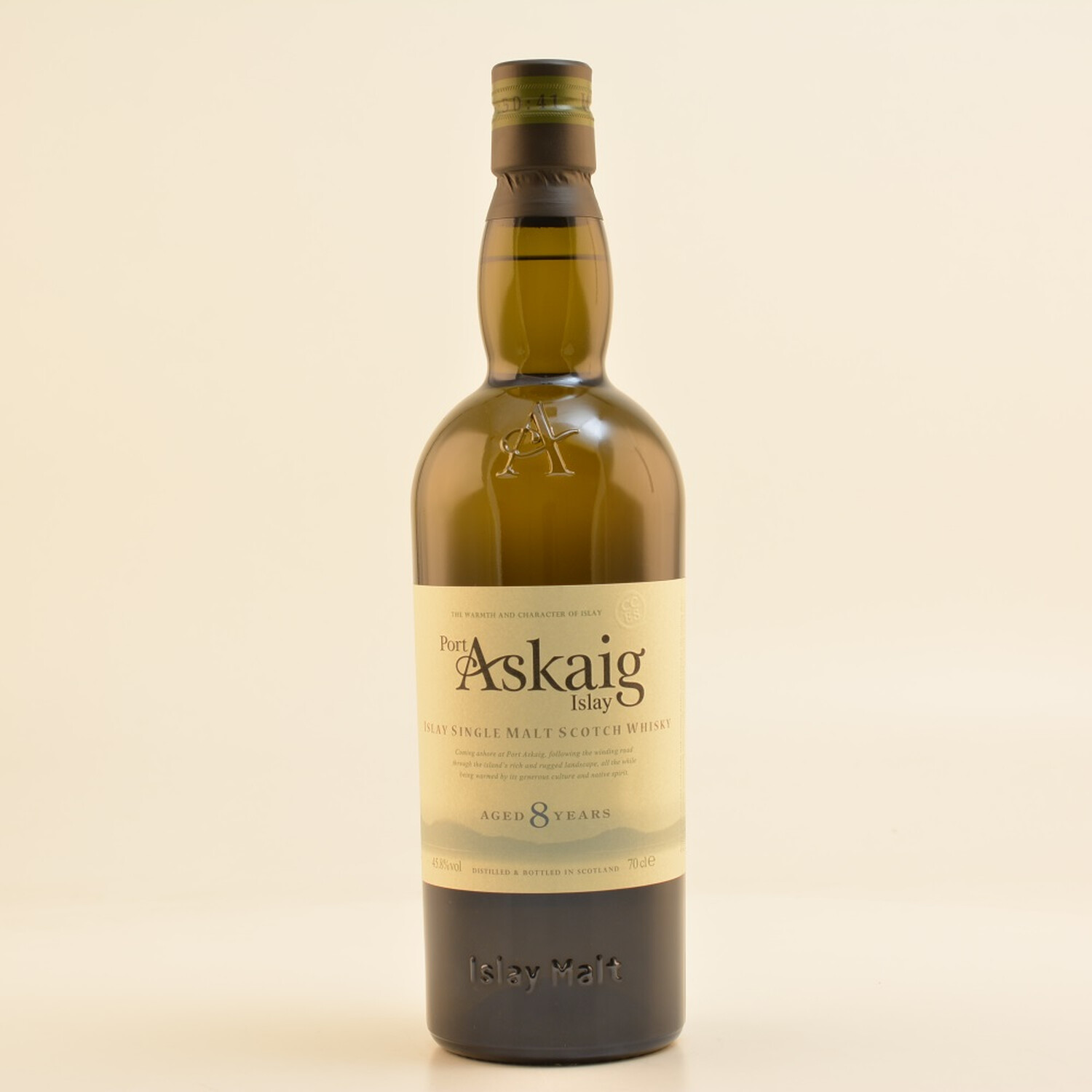 Port Askaig 8 Jahre Islay Whisky 45,8% 0,7l