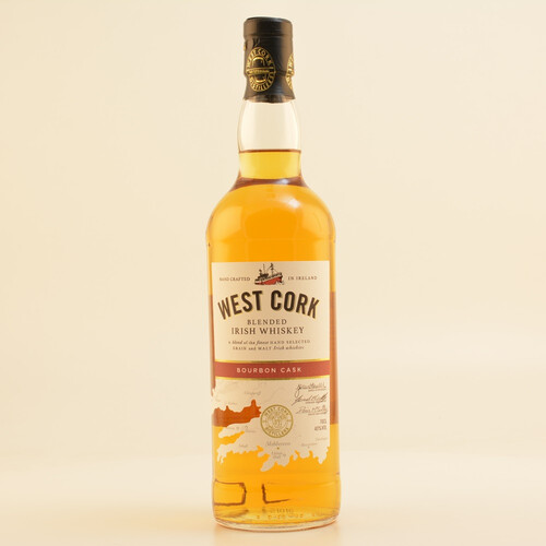 West Cork Original Bourbon Cask Blended Whiskey 40% 0,7l