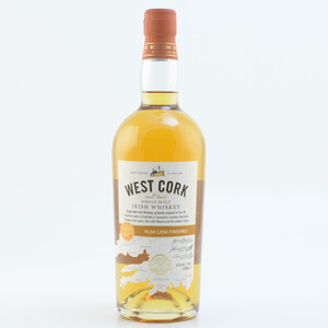 West Cork Rum Cask Single Malt Irish Whiskey 46% 0,7l