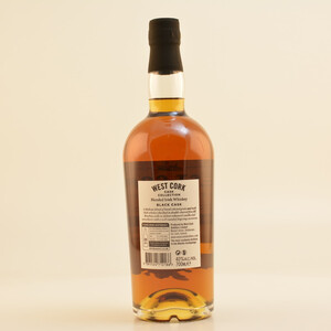 West Cork Black Cask Blended Irish Whiskey 40% 0,7l