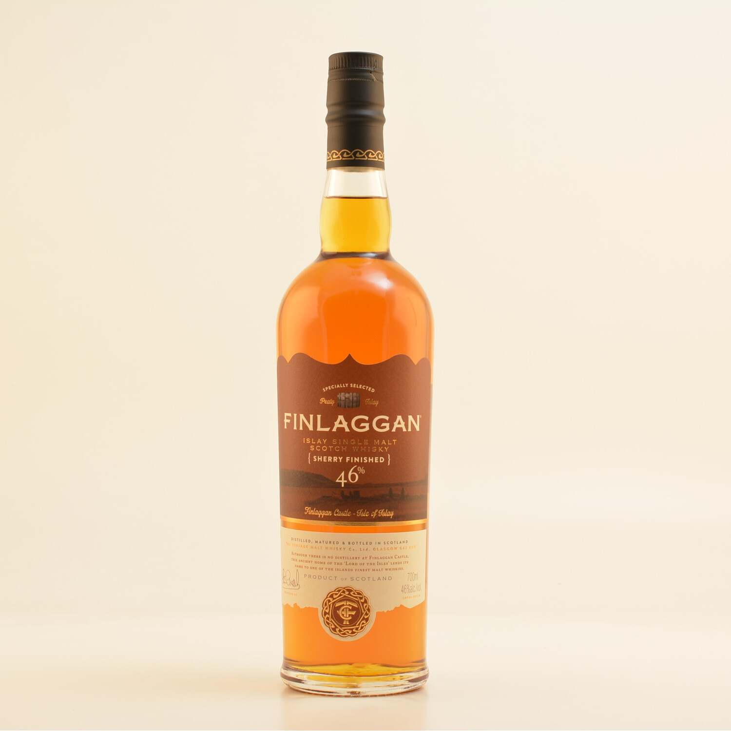 Finlaggan Sherry Wood Finish Whisky 46% 0,7l (5...