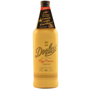 Dooleys Egg Cream Liqueur 15% 0,7l + 2 Tipper