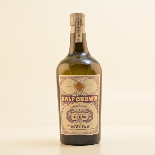 Rokeby's Half Crown London Dry Gin 40,6% 0,7l
