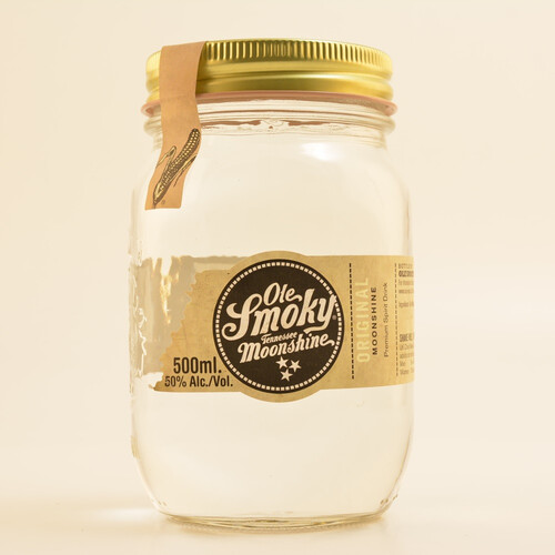 Ole Smoky Original Moonshine Whiskey 50%vol. 0,5l