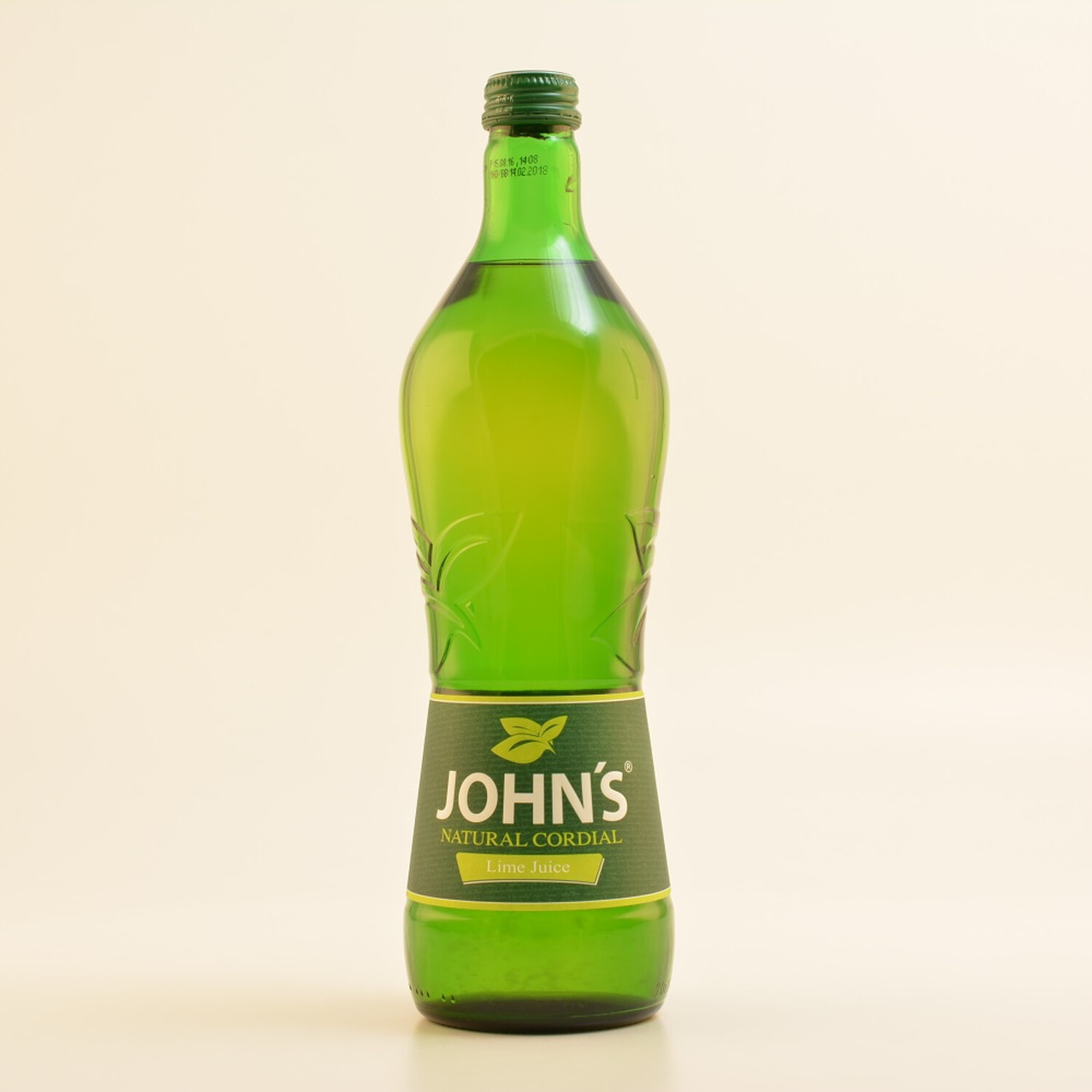 Johns Natural Cordial Lime Juice Kein Alkohol 07l 299