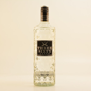 Three Sixty Vodka 37,5% 1,0l
