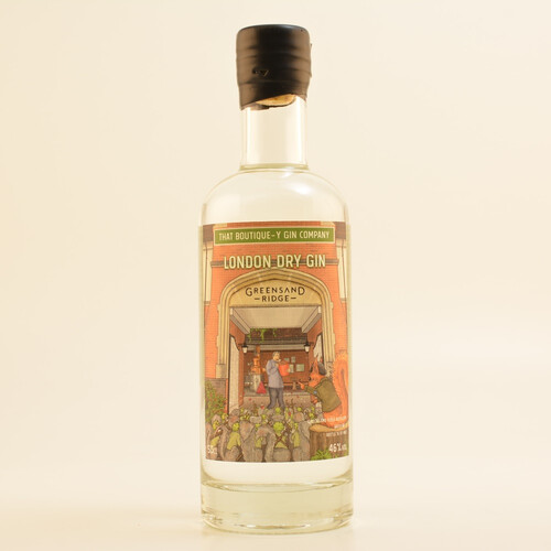 TBGC Greensand Ridge Limited London Dry Gin Batch #1 46% 0,5l