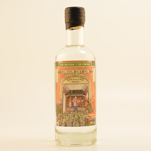 Restposten: TBGC Greensand Ridge Limited London Dry Gin Batch #1 46% 0,5l