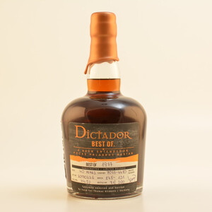 Dictador Best of 1977 Rum Thomas Altmann Edition 40 Jahre 44,5% 0,7l