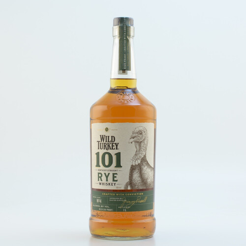 Wild Turkey 101 Proof Rye Whiskey 50,5% 1,0l