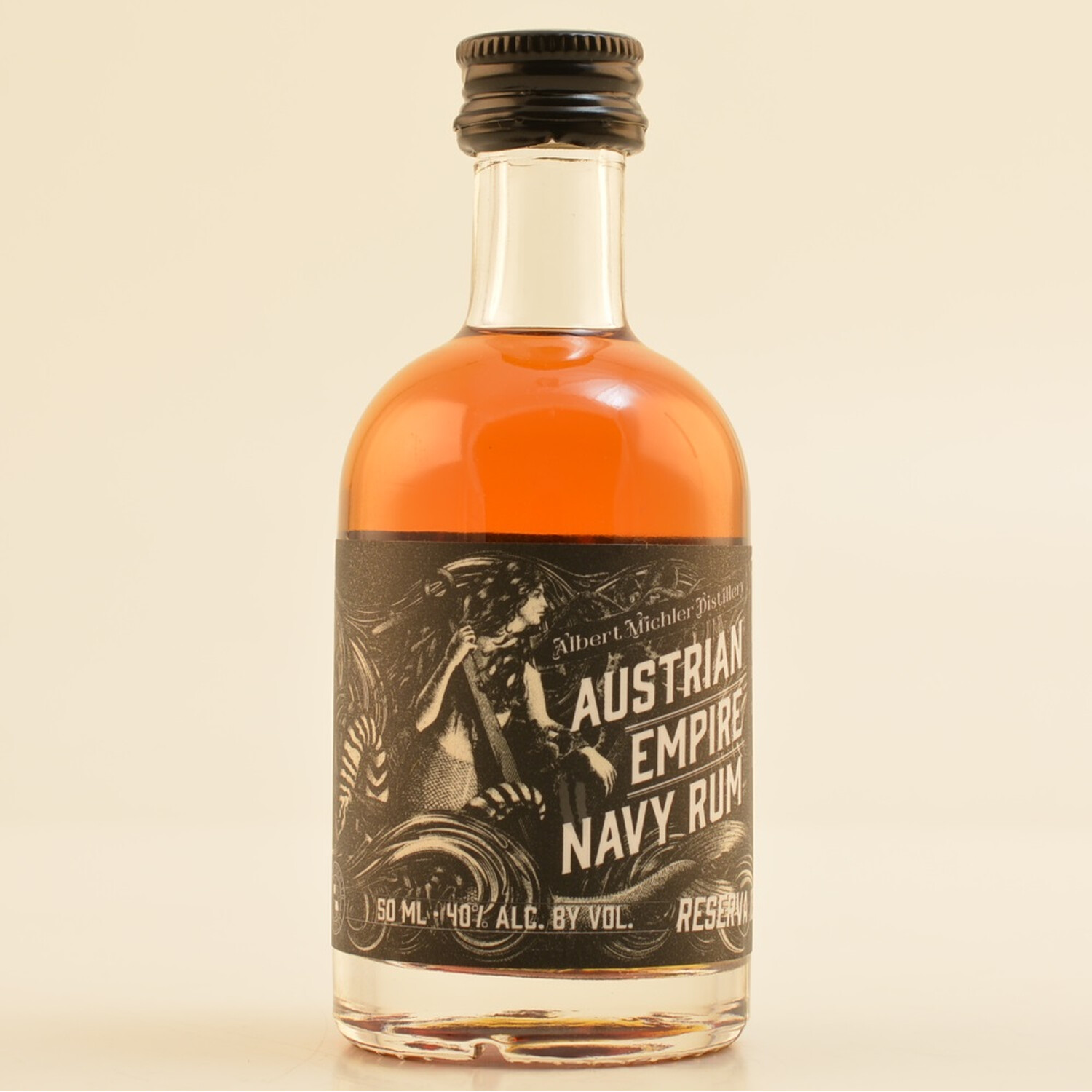 Austrian Empire Navy Rum Reserve 1863 Mini 40% 0,05l