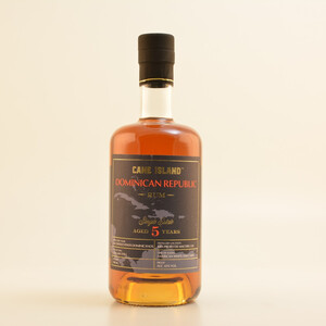 Cane Island Dominican Republic Single Estate Rum 5YO 43% 0,7l
