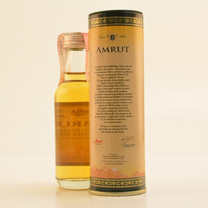 Amrut Peated Indian Whisky Mini 46% 0,05l