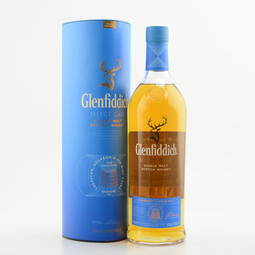 Glenfiddich Cask Collection Select Cask Whisky 40% 1,0l
