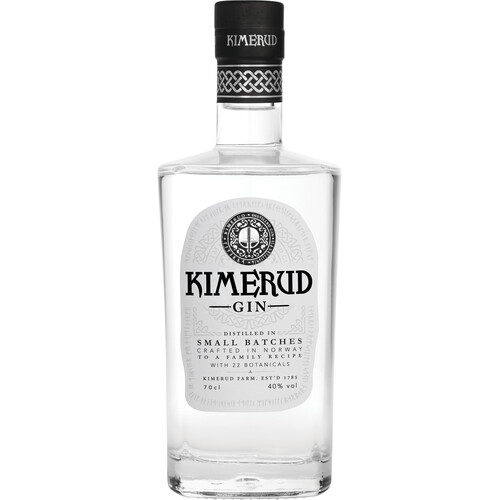 Kimerud Norway Craft Distilled Gin 43% 0,7l
