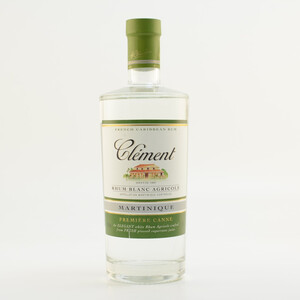 Clement Rhum Agricole Blanc Natural A.O.C 40% 0,7l