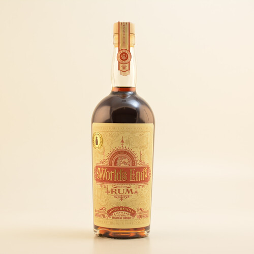World´s End Dark Spiced (Rum-Basis) 40% 0,7l