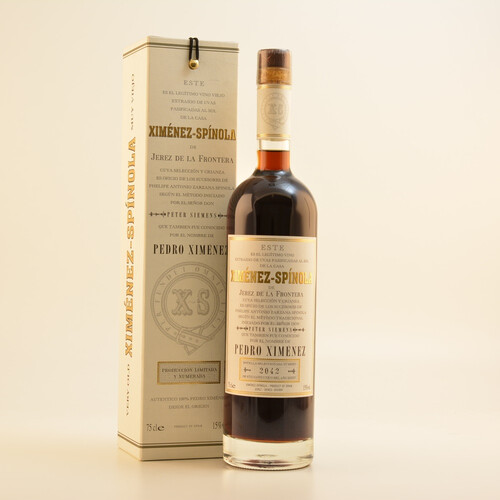 Ximenez-Spinola VO Harvest PX DO Sherry 15% 0,75l