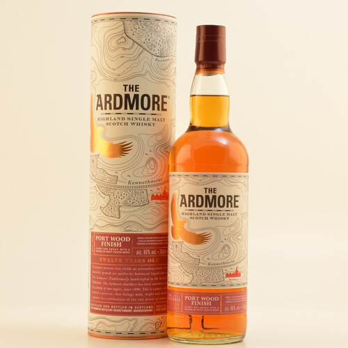 Ardmore Portwood 12 Jahre Whisky 46% 0,7l