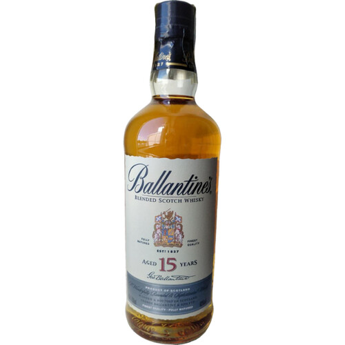 Ballantines 15 Jahre Special Old Blended Whisky 43% 0,7l