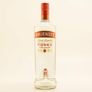 Smirnoff Red Label Vodka 37,5% 1,0l