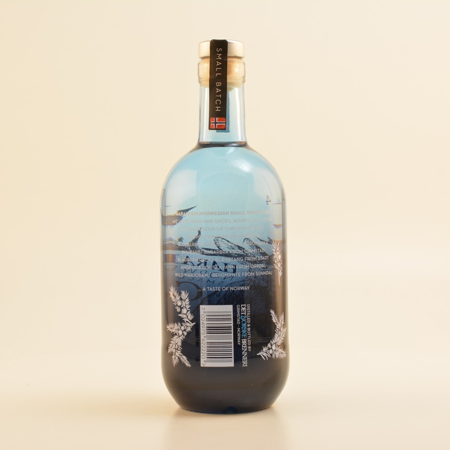 Harahorn Norwegian Small Batch Gin 46% 0,5l