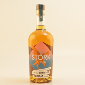 Stork Club Straight Rye Full Proof Whiskey 55% 0,5l