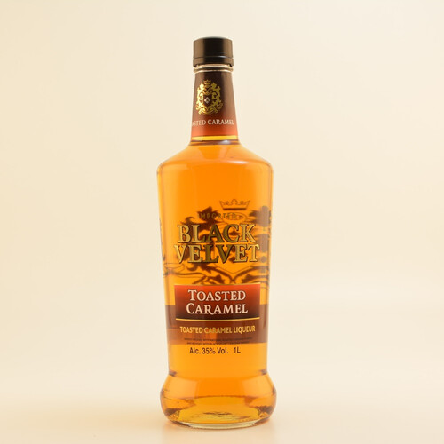 Black Velvet Toasted Caramel Whiskey-Likör 35% 1,0l