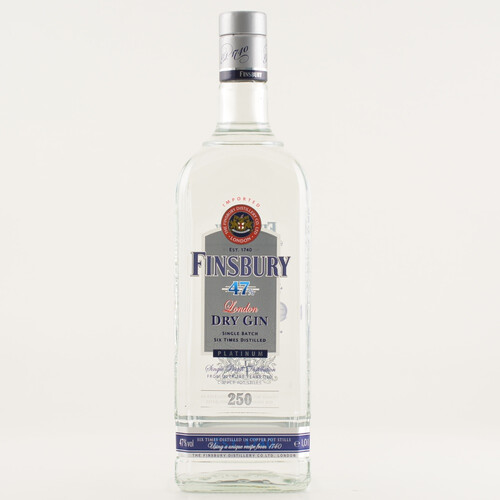 Finsbury 47 Platinum London Dry Gin 47% 1,0l