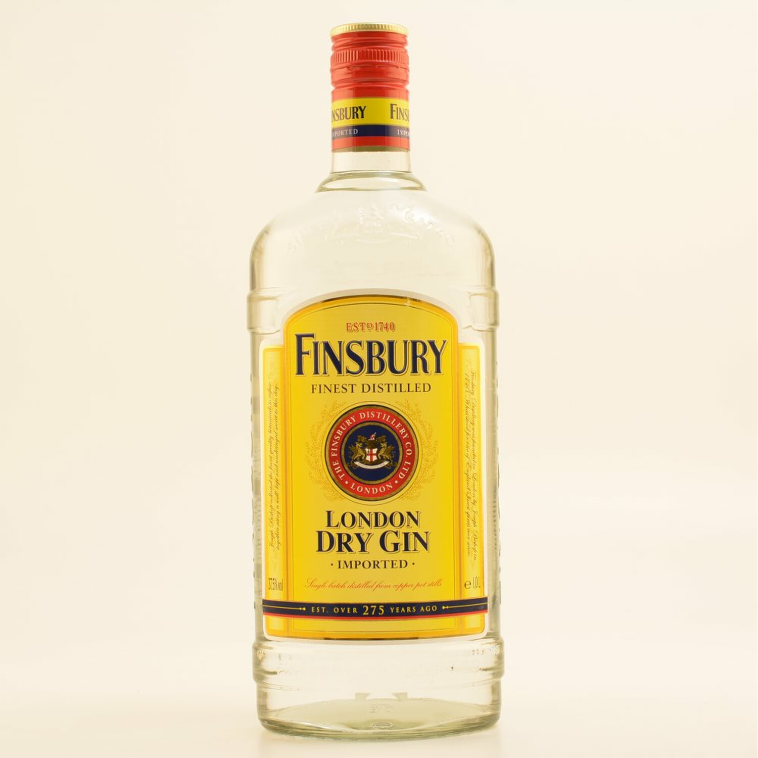 Finsbury London Dry Gin 37,5% 1,0l