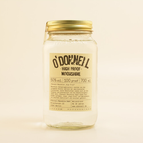 O'Donnell Original High Proof Moonshine 50% 0,7l