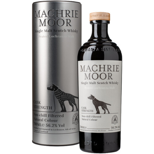 Arran Malt Machrie Moor Cask Strength Whisky 56,2% 0,7l