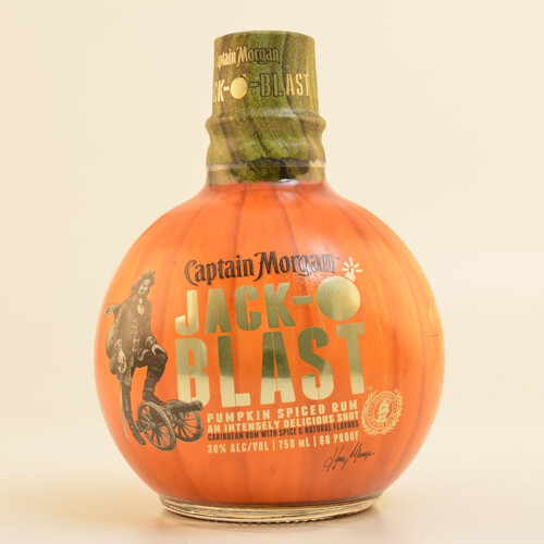 Captain Morgan Jack O Blast Spiced Spirit 35% 0,7l