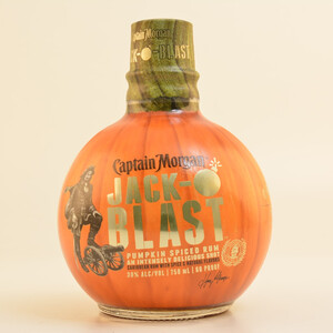 Restposten: Captain Morgan Jack O Blast Spiced Spirit (Rum-Basis) 30% 0,7l