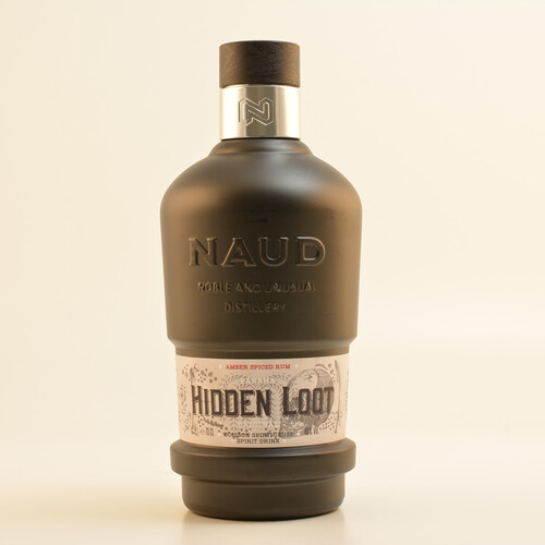 Naud Hidden Loot Amber Spiced Panama (Rum-Basis) 40% 0,7l + Gratis Mini