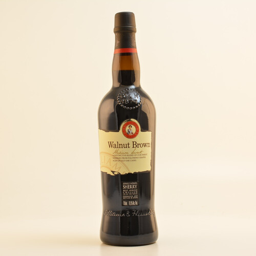 W&H Walnut Brown Medium Sweet Sherry 19,5% 0,75