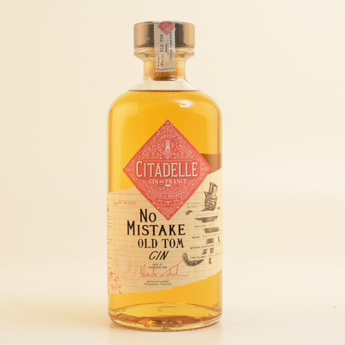 Citadelle No Mistake Old Tom Gin im Etui 46% 0,5l