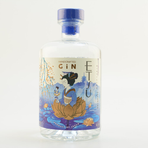 ETSU Handcrafted Japanese Gin 43% 0,7l