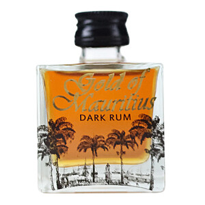 Gold of Mauritius Dark Rum Mini 40% 0,05l