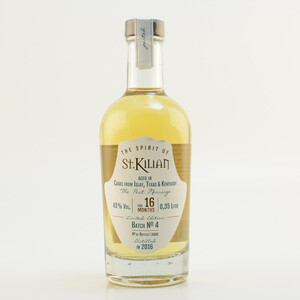 St. Kilian Batch 04 - Peat Marriage - 16 Monate Triple Cask Limited 45% 0,35l