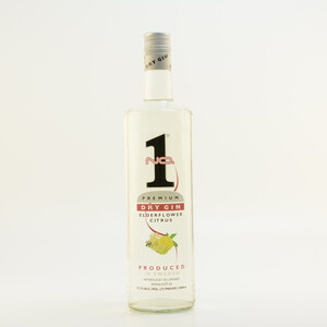 No. 1 Dry Elderflower Citrus Gin 37,5% 1,0l