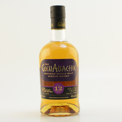 Glenallachie 12 Jahre Speyside Single Malt Whisky 46% 0,7l