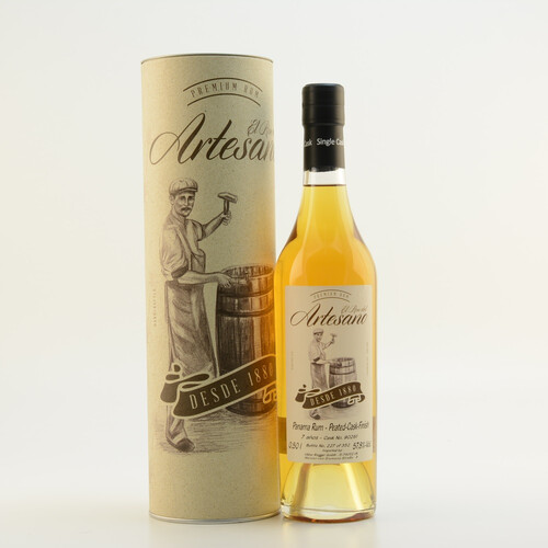 El Ron del Artesano 7 Jahre Peated Whisky Cask Finish 57,8% 0,5l