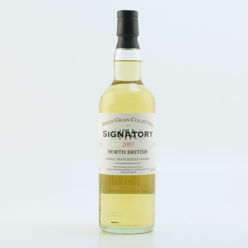 Signatory 2007 North British Single Grain Whisky 43% 0,7l