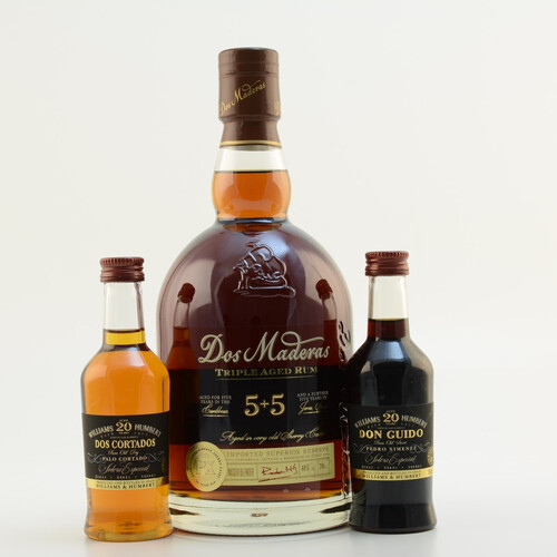Dos Maderas Rum PX 5+5 Triple Aged Set 0,9l