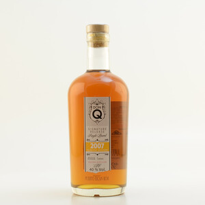 DON Q Single Barrel 2007 Rum 40% 0,7l