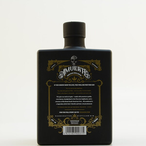 Amuerte Coca Leaf Gin Black Edition 43% 0,7l