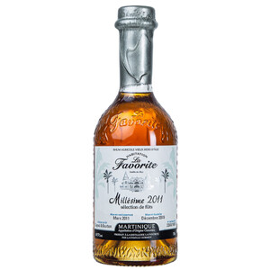 La Favorite Rhum Blanc L Authentique Yole 50% 1,0l